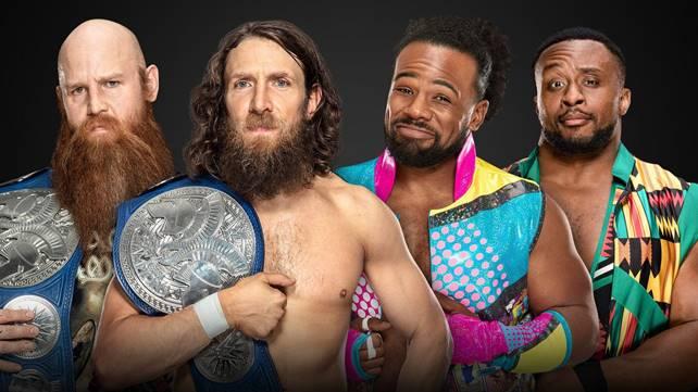 Матч Дэниела Брайана и Роуэна против Ксавье Вудса и Биг И за командные титулы SmackDown официально назначен на Extreme Rules 2019