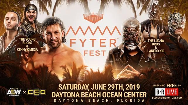 AEW анонсировали командного партнёра Луча Братьев в их матче против Кенни Омеги и Янг Бакс на AEW Fyter Fest; Обновленный кард PPV-шоу