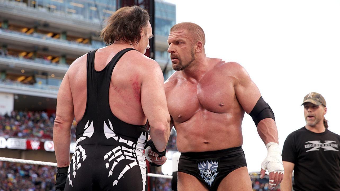 Трипл Эйч объяснил причину своей победы над Стингом на WrestleMania 31