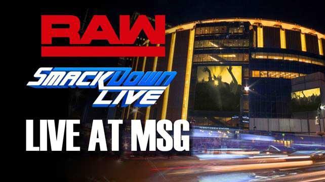 WWE в сентябре проведут эфиры Raw и SmackDown в Madison Square Garden