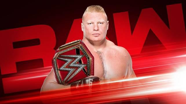 Брок Леснар появится на следующем эфире Raw