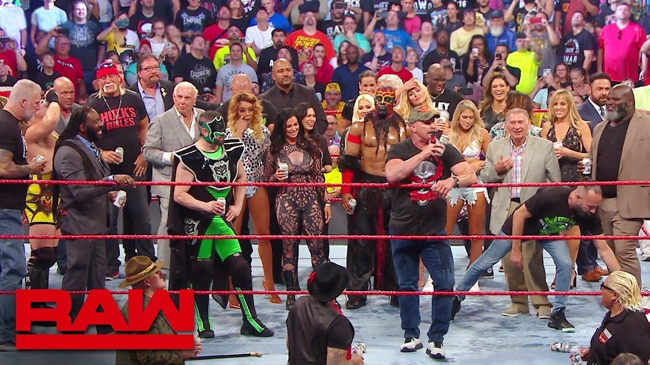 Телевизионные рейтинги Raw Reunion собрали лучший показатель просмотров в 2019 году
