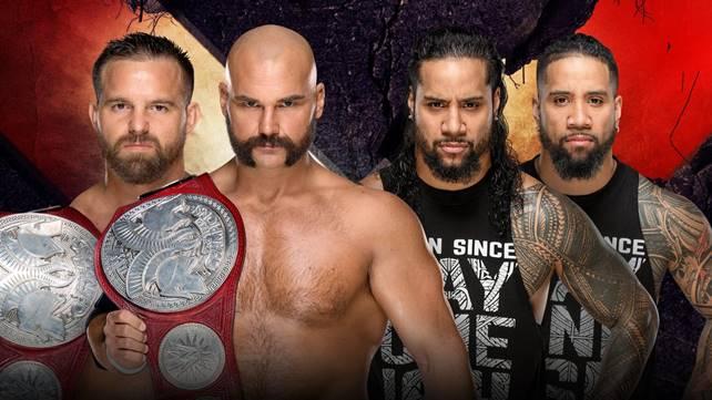 Матч за командные чемпионства Raw анонсирован на Extreme Rules 2019