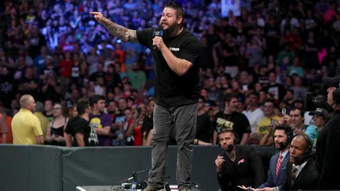 Закулисные новости о промо Кевина Оуэнса на SmackDown