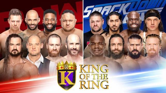 Обновляемые результаты турнира King of the Ring 2019