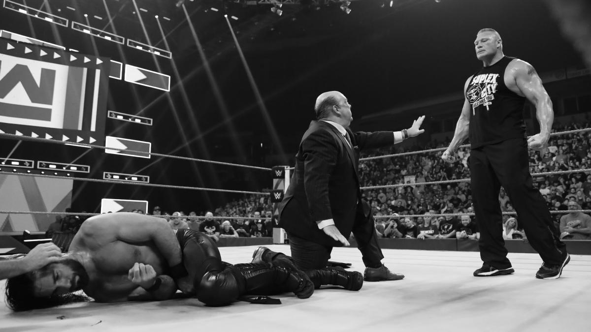 Оригинальные планы нападения Брока Леснара на Сэта Роллинса во время прошлого Raw