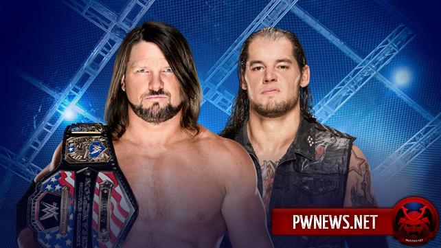 Матч за титул США и два одиночных матча назначены на Hell in a Cell 2017; Обновлённый кард Hell in a Cell 2017 (спойлеры со SmackDown Live)