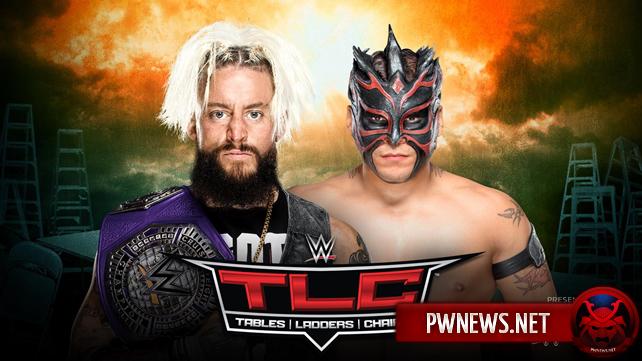 Титульный матч анонсирован на TLC 2017; Обновлённый кард TLC 2017