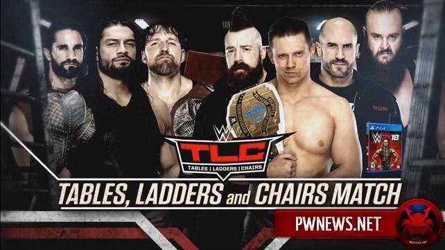 Большой гиммиковый матч анонсирован на TLC 2017; Известна первая оппонентка Аске на TLC 2017 (спойлеры с Raw)