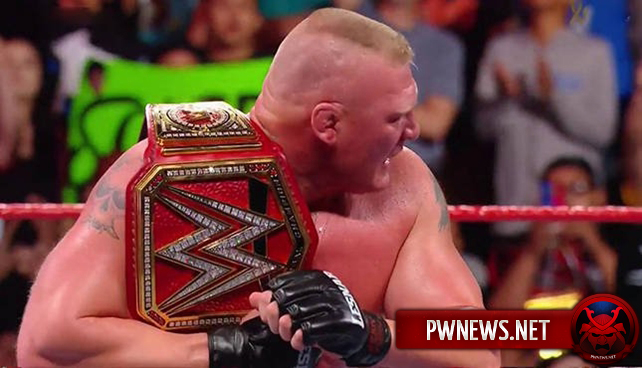 Брок Леснар заявлен на эпизод Raw в ноябре