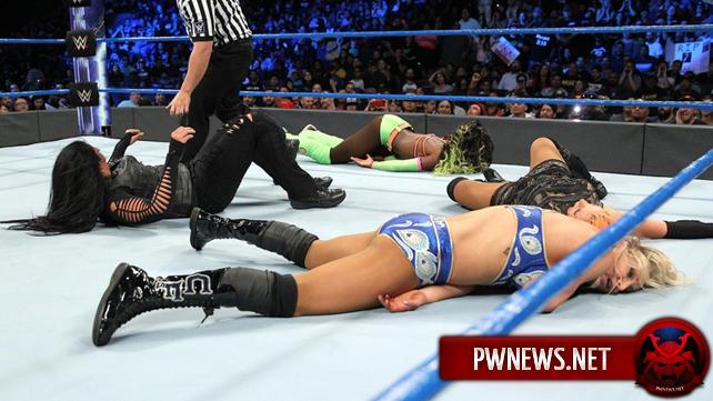 Как четырёхсторонний поединок за первое претендентство на женское чемпионство повлиял на телевизионные рейтинги SmackDown?