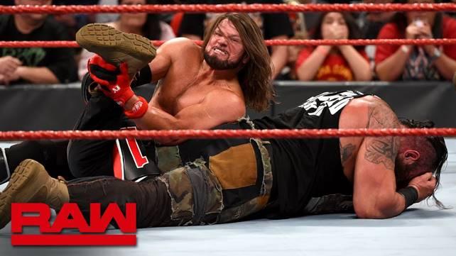 Как поединок ЭйДжей Стайлза и Брона Строумана повлиял на телевизионные рейтинги прошедшего Raw?