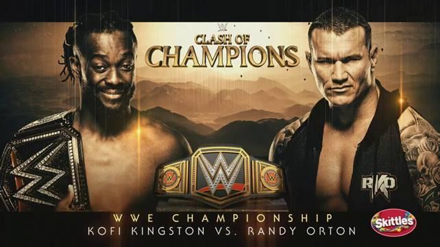 Матч за чемпионство WWE официально назначен на Clash of Champions 2019