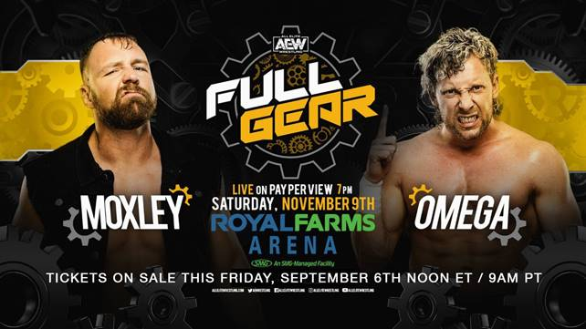 Матч Кенни Омеги против Джона Моксли официально анонсирован на AEW Full Gear