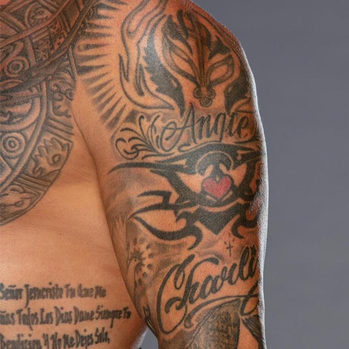 Татуировки Рэя Мистерио