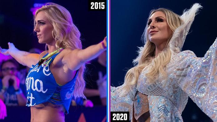 Эволюция звезд WWE