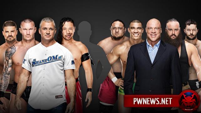 Три участника добавлены в команду Raw на Survivor Series; Полный состав команды Raw (спойлеры с Raw)