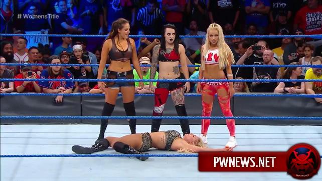 Дебюты во время эфира SmackDown Live (спойлеры со SmackDown Live)