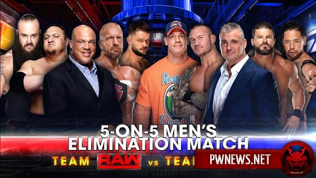 Большое изменение в составе мужской команды Raw на Survivor Series (спойлеры с Raw)