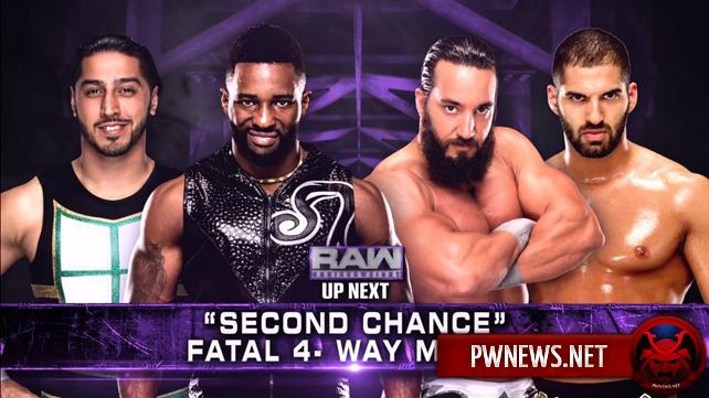 Матч за первое претендентство на титул полутяжеловесов назначен на следующее Raw (спойлеры с Raw)