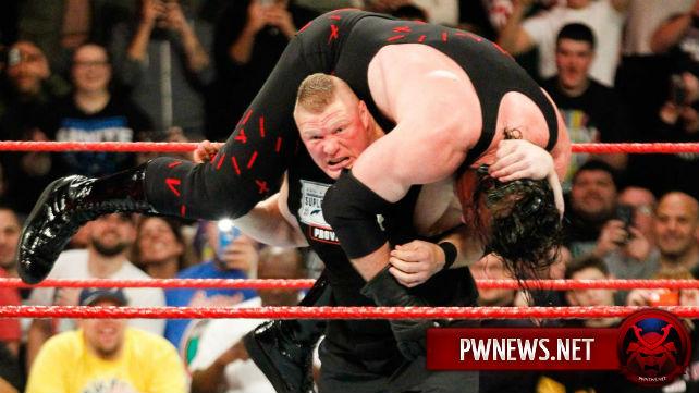 О том, когда истечет контракт Брока Леснара с WWE