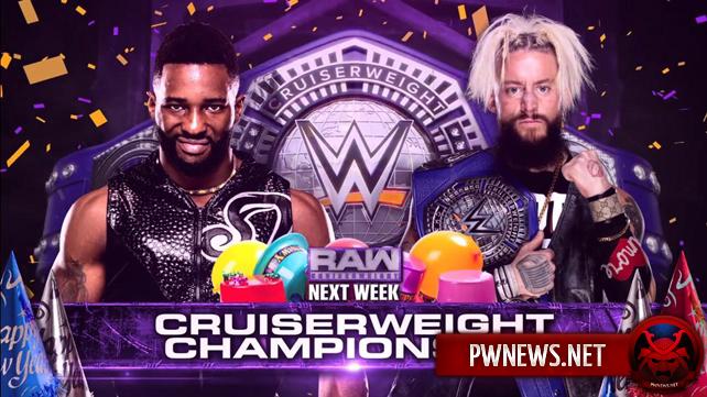Титульный матч назначен на первое Raw в 2018 году; Брок Леснар заявлен на следующее Raw