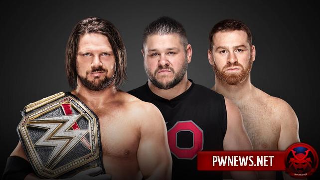 Матч за титул WWE анонсирован на Royal Rumble 2018 (спойлеры со SmackDown)