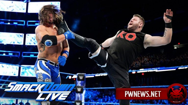 Как поединок ЭйДжей Стайлза и Кевина Оуэнса повлиял на просмотры последнего SmackDown в 2017 году?