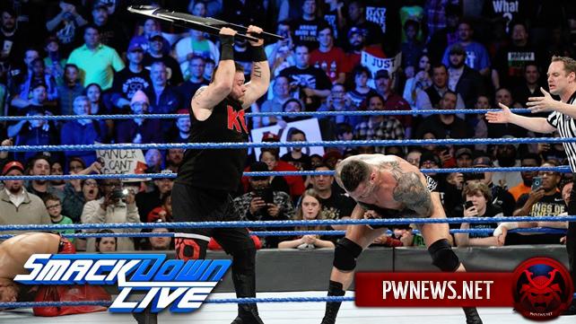 Как гандикап поединок в мейн-ивенте двое против троих повлиял на просмотры прошедшего SmackDown? Известны рейтинги SmackDown 09.01