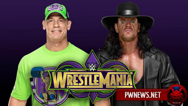 Почему WWE не спешат с анонсом матча Гробовщика против Джона Сины на WrestleMania 34?