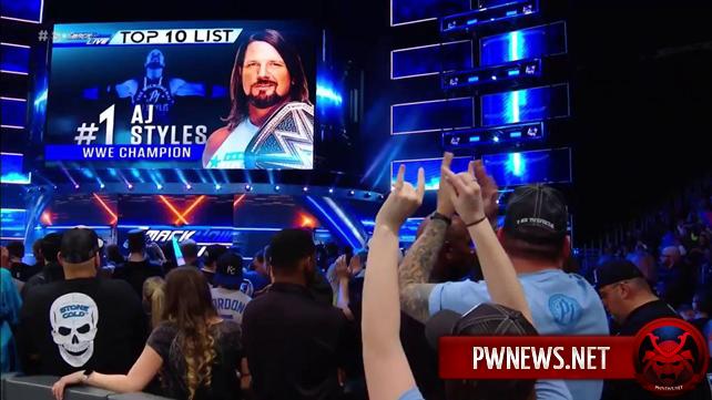 Дэниал Брайан представил топ 10 исполнителей SmackDown Live (спойлеры со SmackDown)