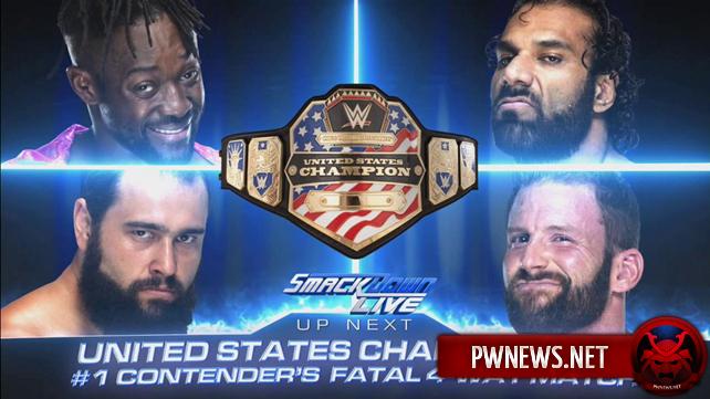 Определился первый претендент на титул Соединённых Штатов; Титульный матч назначен на следующую неделю (спойлеры со SmackDown)