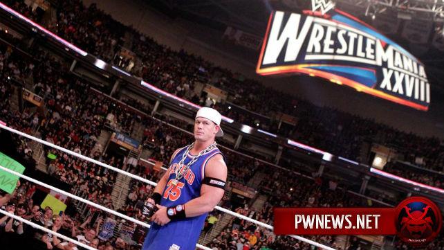 WWE, как сообщается, отказались от хил-терна Джона Сины в 2012