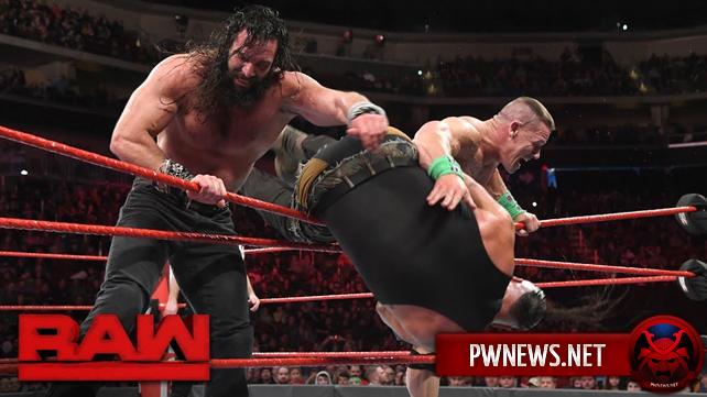 Как поединок с тройной угрозой Элаяса, Джона Сины и Брона Строумана в мейн-ивенте повлиял на просмотры прошедшего Raw?