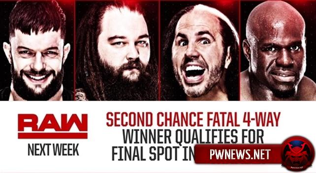 WWE ненароком указали победителя матча за последнее место в мужском Elimination Chamber