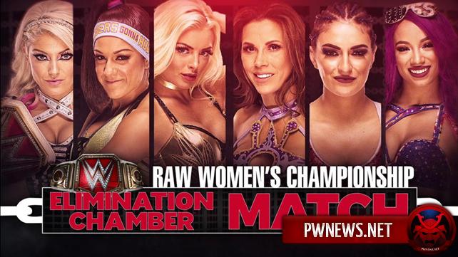 Курт Энгл анонсировал остальных участниц женского Elimination Chamber матча; Новый матч назначен на Elimination Chamber (спойлеры с Raw)