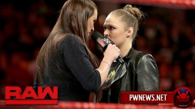 Как первое появление Ронды Раузи в мейн-ивенте шоу повлияло на просмотры прошедшего Raw?