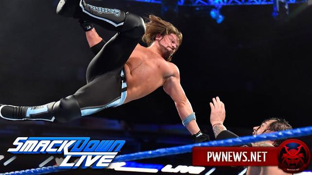 Как поединок ЭйДжей Стайлза и Бэрона Корбина в мейн-ивенте шоу повлиял на просмотры прошедшего SmackDown?