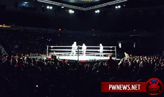 Результаты хаус-шоу 26.02 (Сан-Диего, Калифорния) — Четырёхсторонний матч за титул чемпиона WWE, Рэй Мистерио посетил шоу