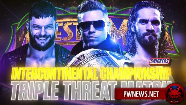 Матч за ИК титул назначен на WrestleMania 34 (спойлеры с Raw)